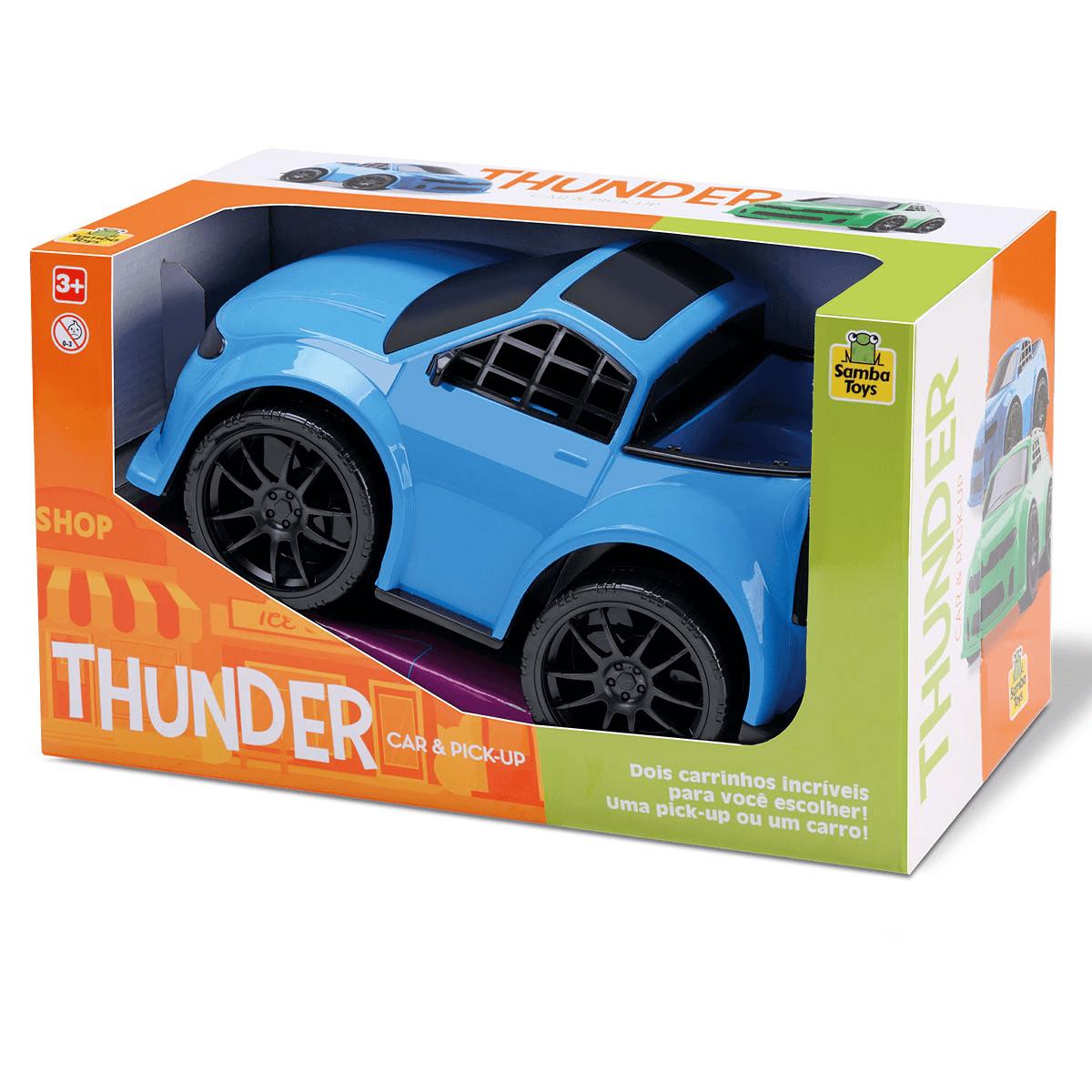 Carrinho Thunder Car & Pickup
