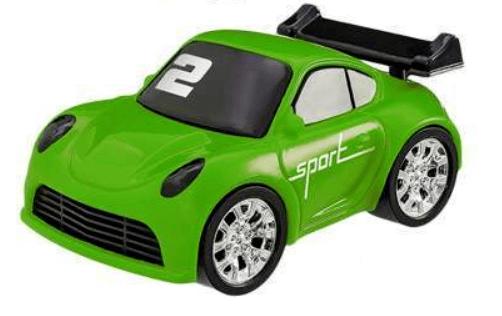 Carrinho Turbo Strees Euro Carro 11 Cm - 132677 - Usual