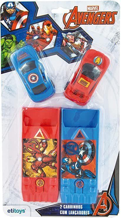 Carro com Lançador Avengers - Etitoys