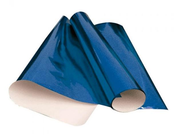 Cartolina Laminada 48 x 60cm Azul