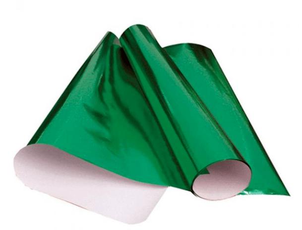 Cartolina Laminada 48 x 60cm Verde