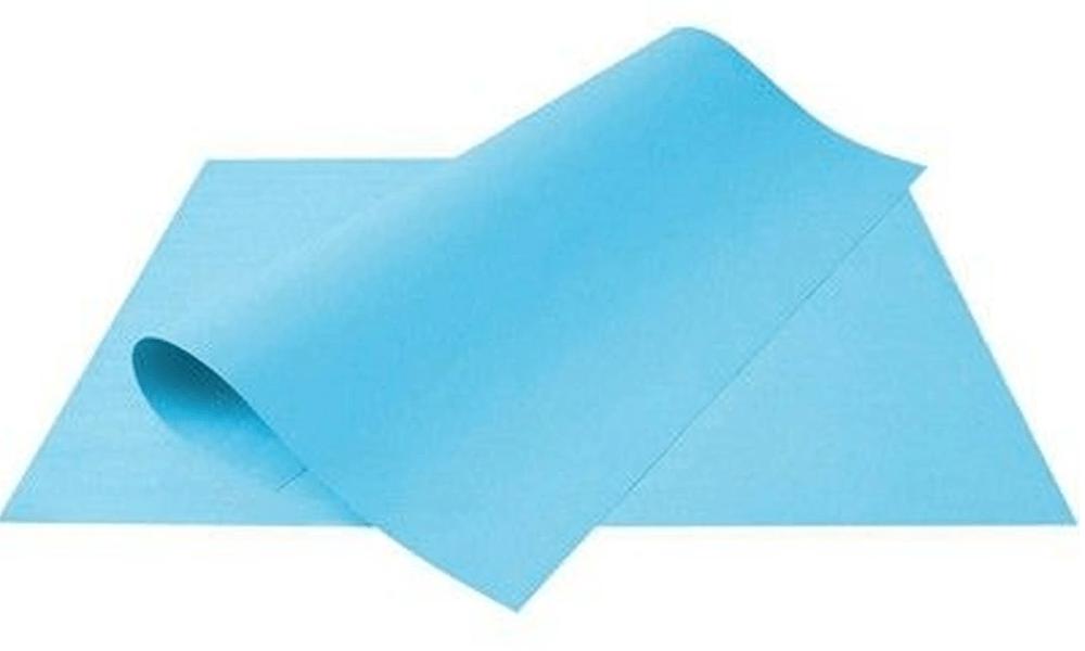Papel Cartolina Escolar Azul 150g 50x66 cm Unitário