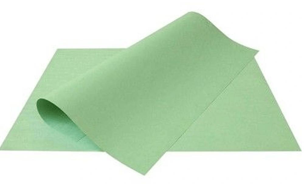 Papel Cartolina Escolar Verde 150g 50x66 cm Unitário