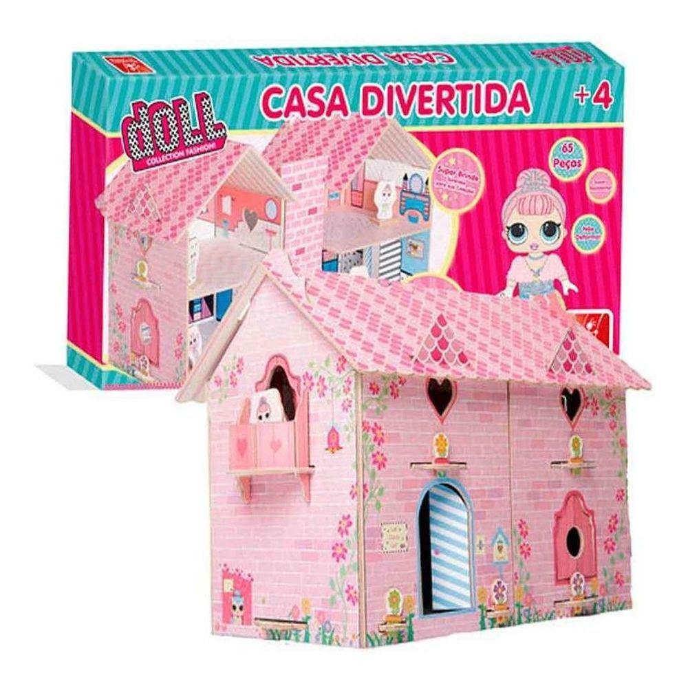 Casa Divertida Doll - Brincadeira De Criança 2390