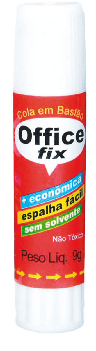 Cola bastão 20g - Office Fix - Radex - Pct 2 UN