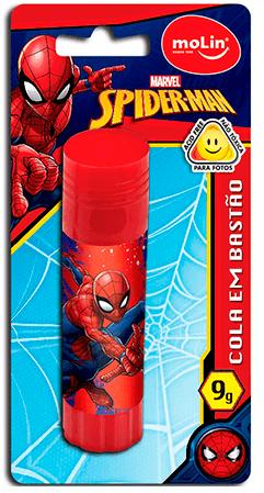 Cola bastão 9g - Spider Man - Molin - 1 UN