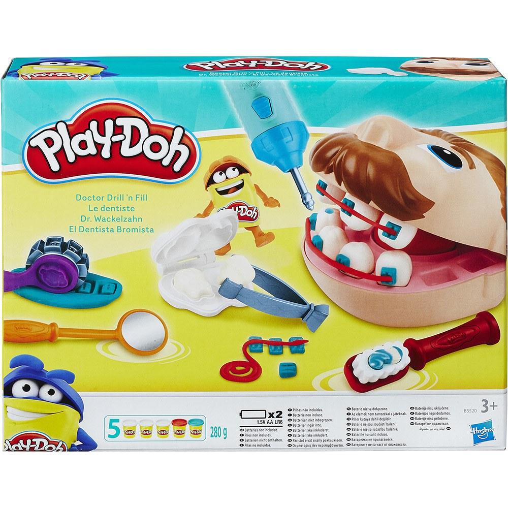 Conjunto Play Doh Dentista - Hasbro