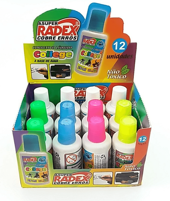 Corretivo Radex Asuper College Radical 18ml