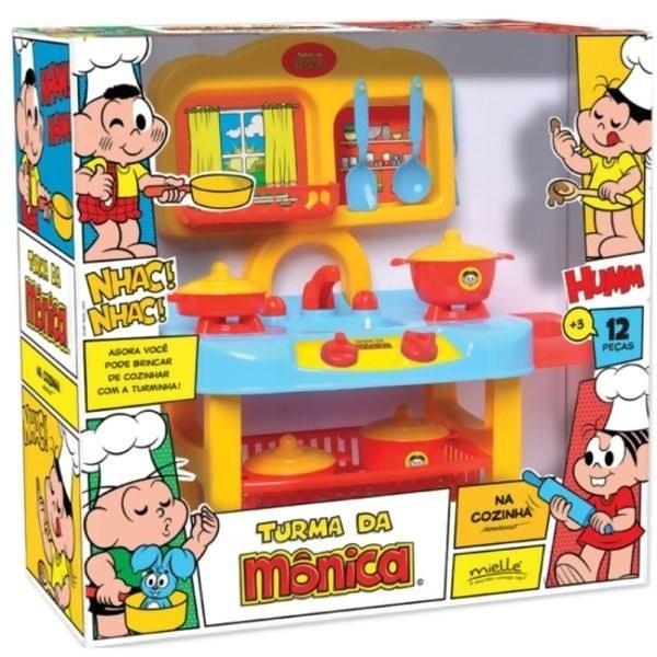 Cozinha Turma da Mônica 12 peças - Mielle