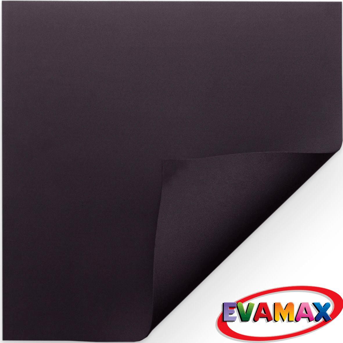 EVA placa Liso 48 X 40 cm - Preto
