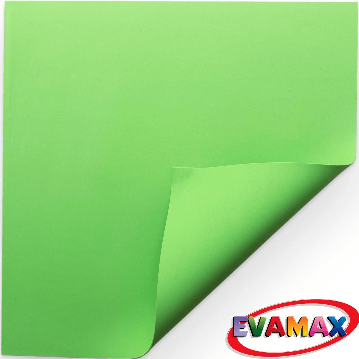 EVA placa Liso 48 X 40 cm - Verde