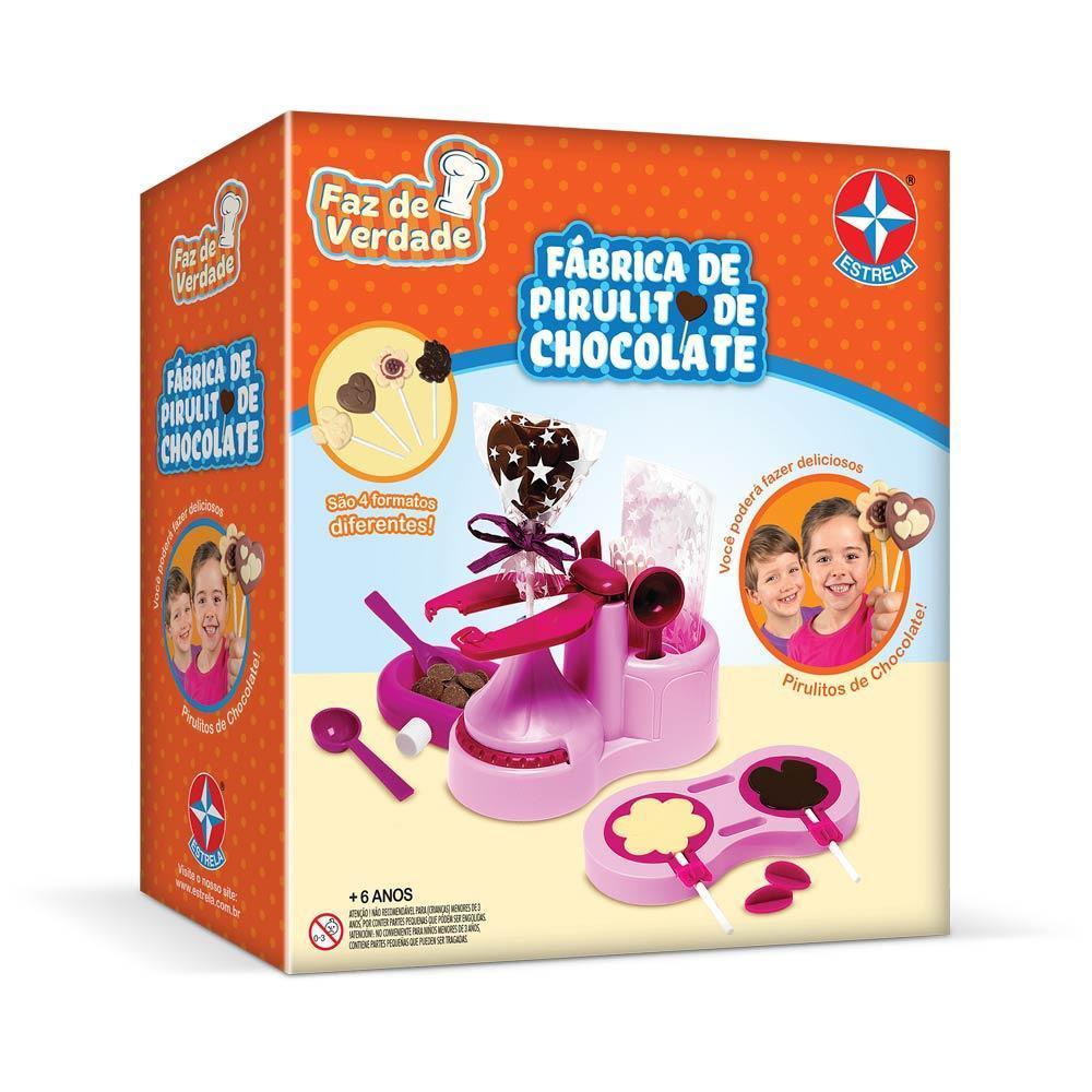 Fábrica De Pirulito De Chocolate - Estrela