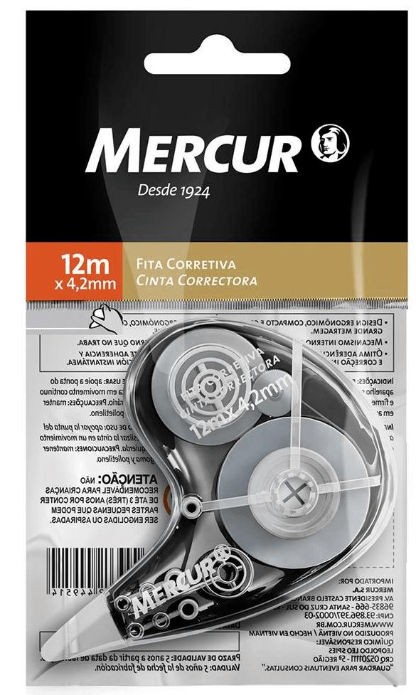 Fita Corretiva Com 12 Metros - Mercur