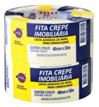 Fita Crepe 48x50m C/2 Un Msk Eurocel