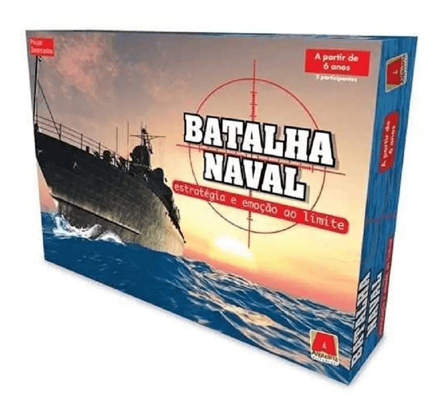 Jogo Batalha Naval Magnético - Novo Mundo