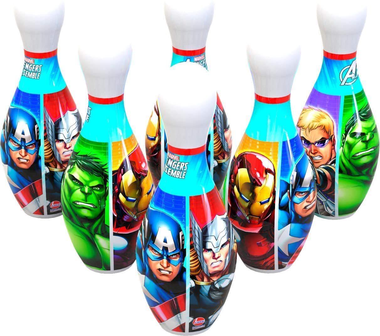 Jogo de Boliche Avengers - Lider Brinquedos