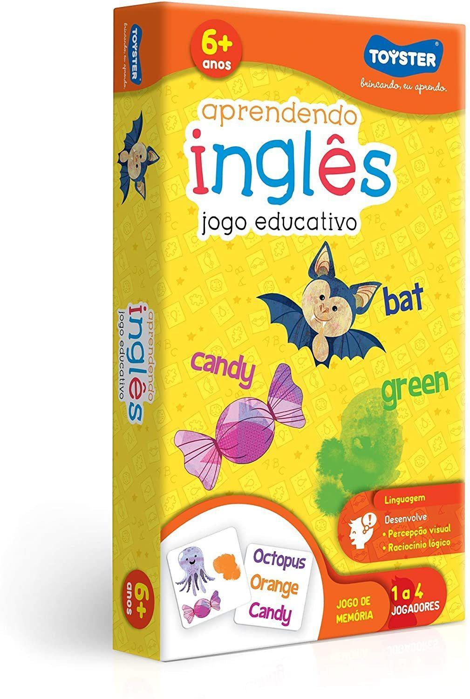 Jogo de Memória Aprendendo Inglês - Toyster