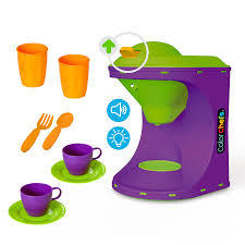 Kit Cafeteira Color Chefs - Usual Brinquedos