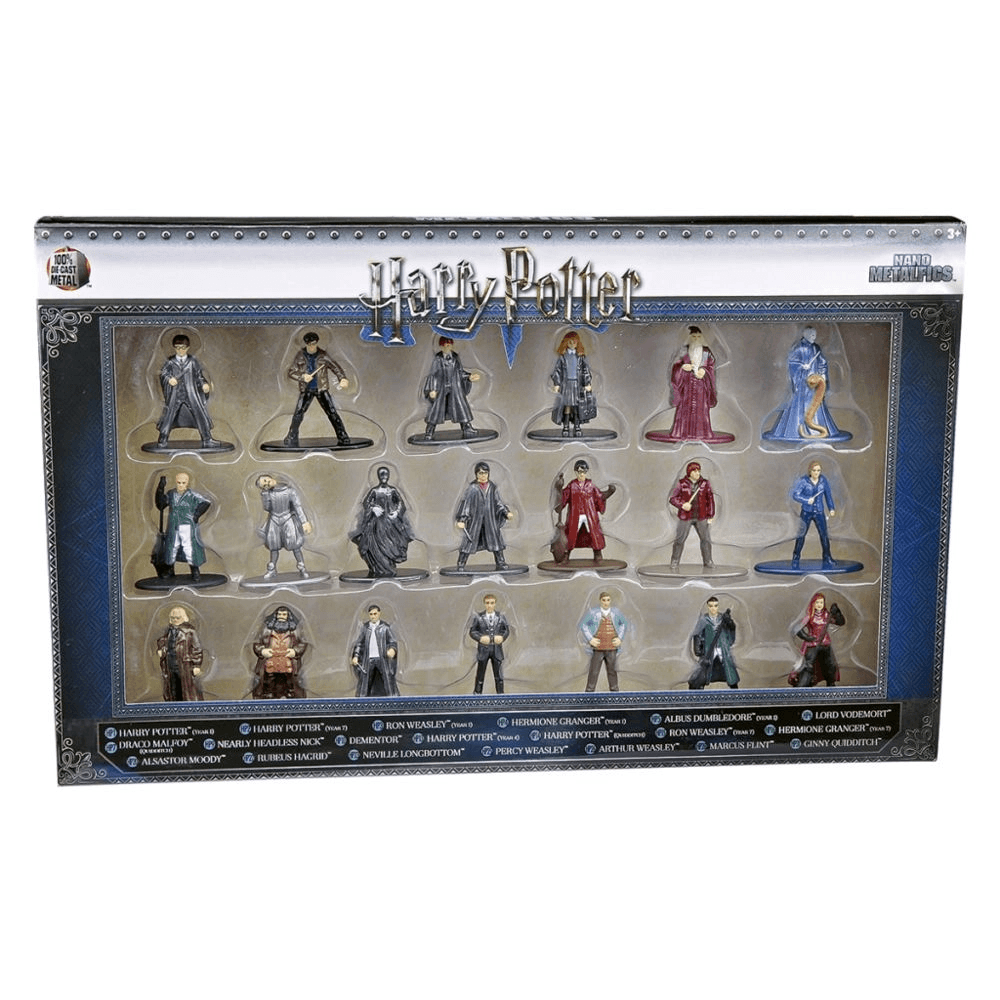 Kit De Bonecos Harry Potter 4 Cm Nano Metalfigs
