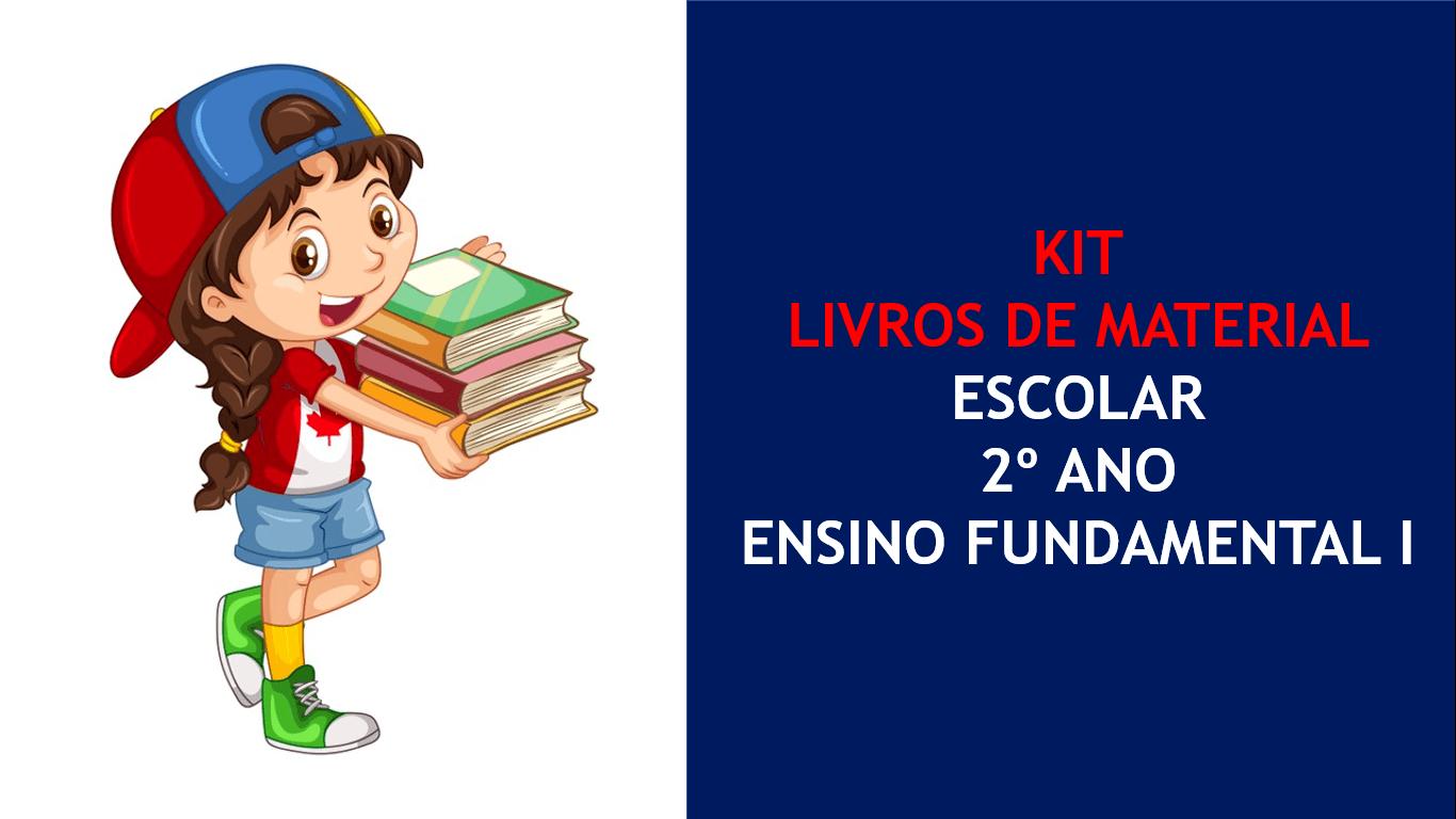 Kit Livros Didáticos 2º Ano - Ensino Fundamental I - Colégio Agostiniano Mendel