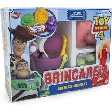 Kit Toy Story Massa Areia com Moldes Brincareia - Toyng