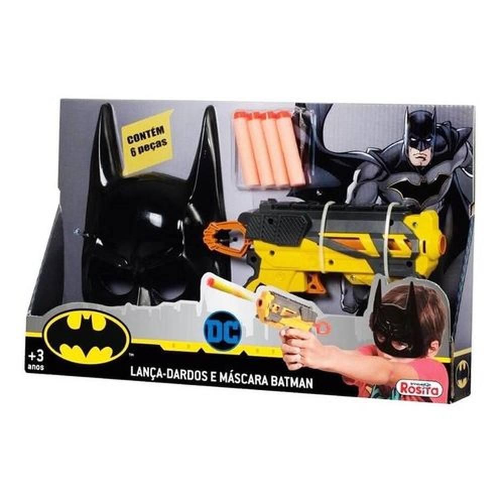 Lança-dardos E Máscara Batman - Rosita