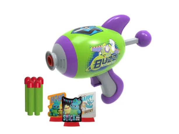 Lançador de Dardos com Alvos - Buzz - Toy Story - Lançador Espacial - Toyng