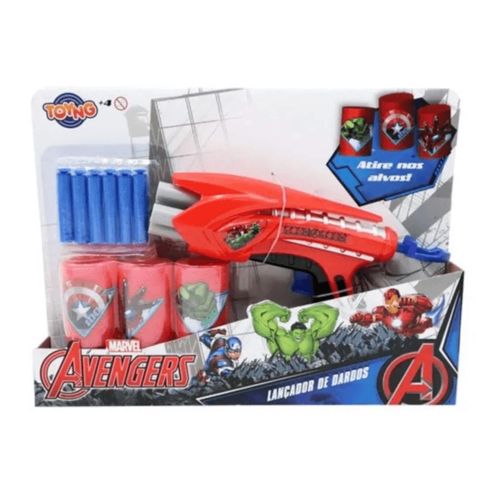 Lançador de Dardos Marvel Vingadores - Toyng