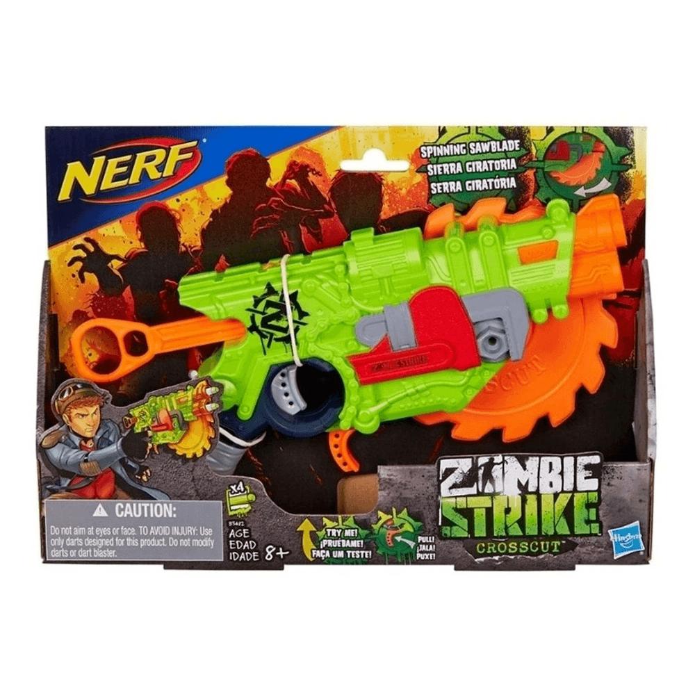Lançador Nerf Zombie Strike Crosscut Hasbro
