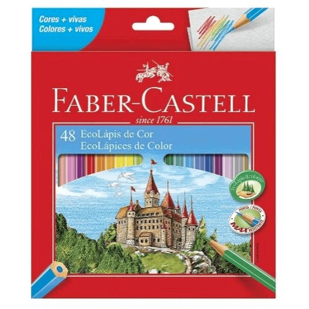 Lápis de Cor Com 48 Cores Quality  Faber Castell