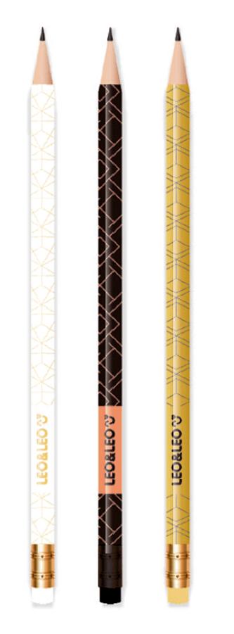 Lápis Grafite HB Gold c/3 unidades