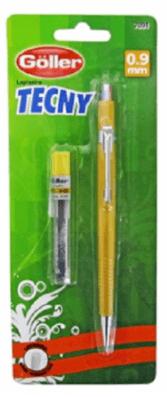 Lapiseira Tecny 0.9mm com 1 tudo de grafite