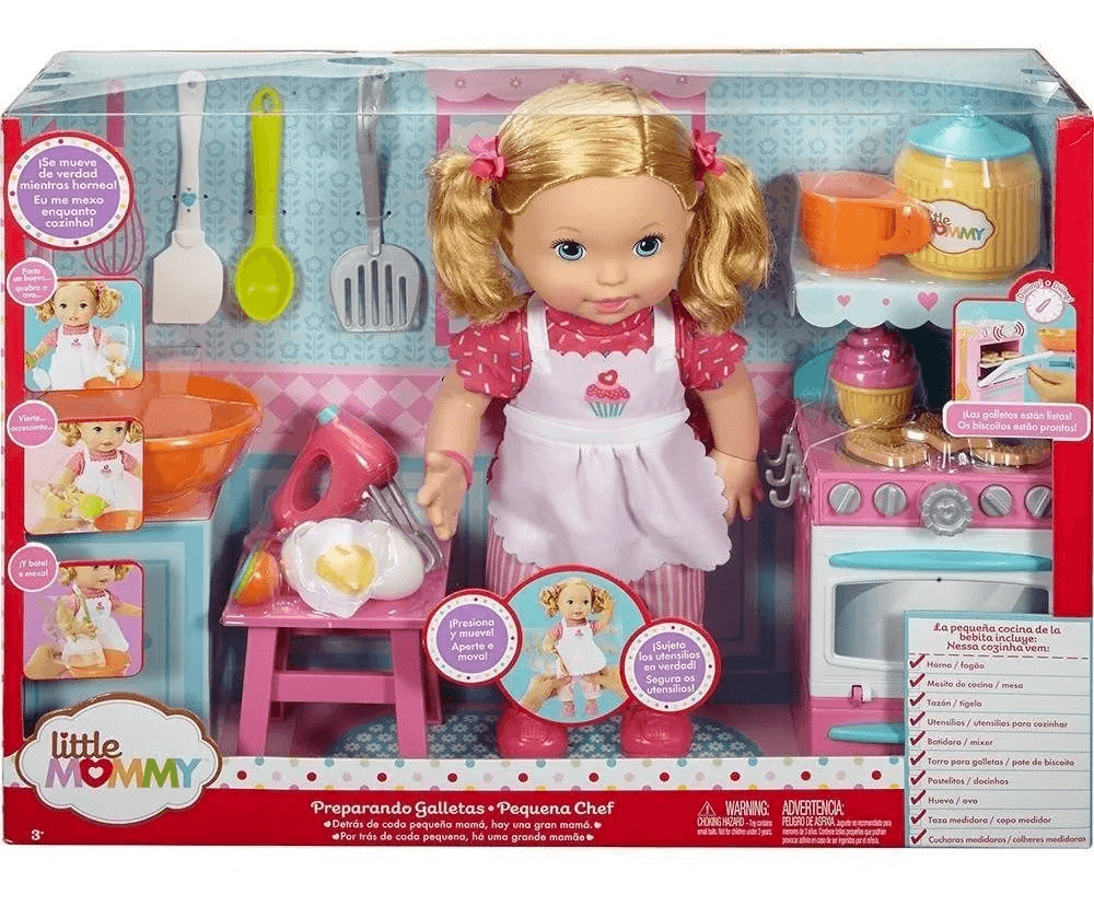 Little Mommy - pequena Chef - Mattel