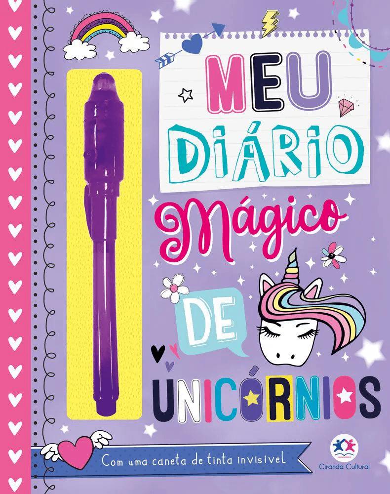 Livro - Meu diário mágico de unicórnios
