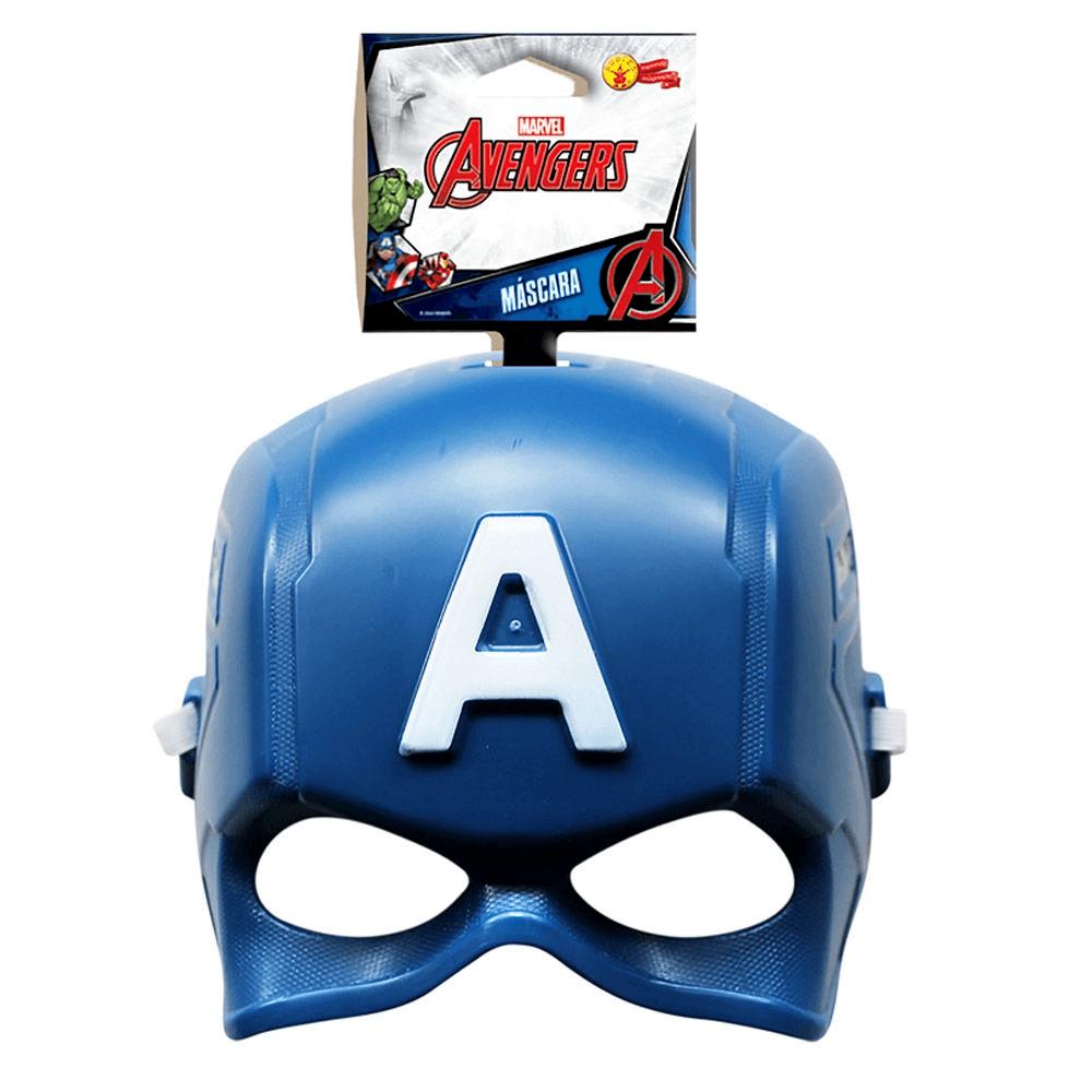 Máscara Capitão América Clássica   Rubies