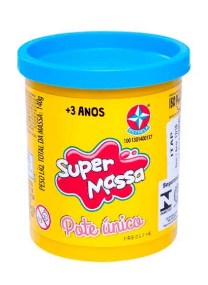 Massinha Super Massa Pote Único - Estrela