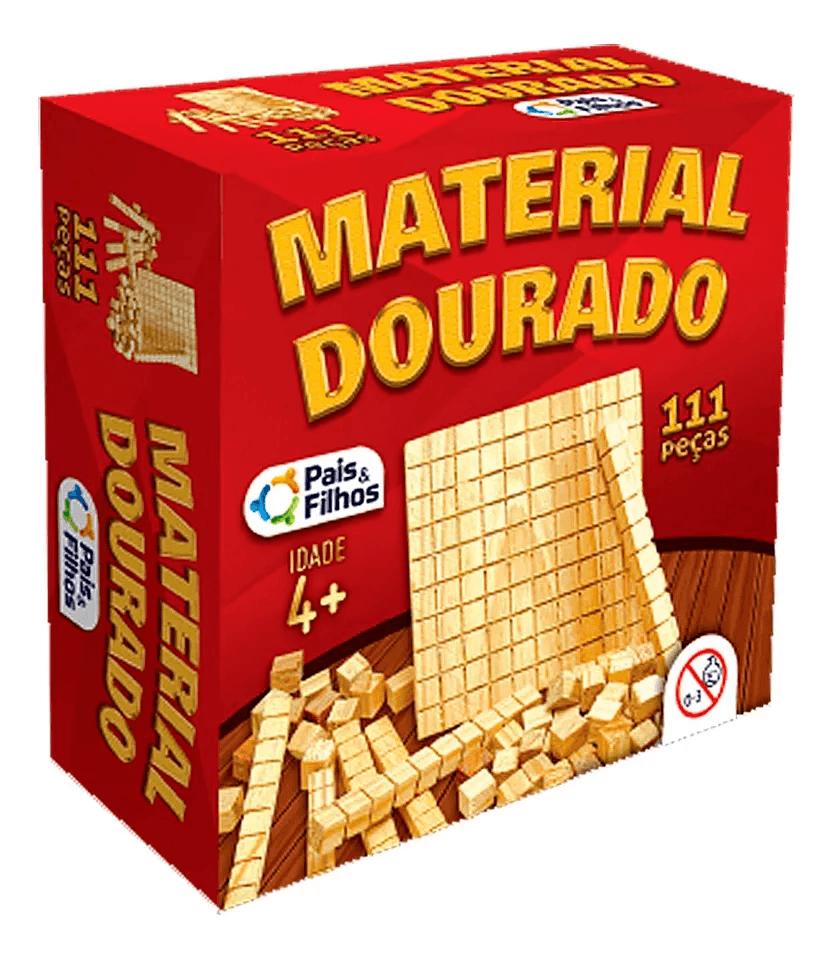 Material dourado madeira ST