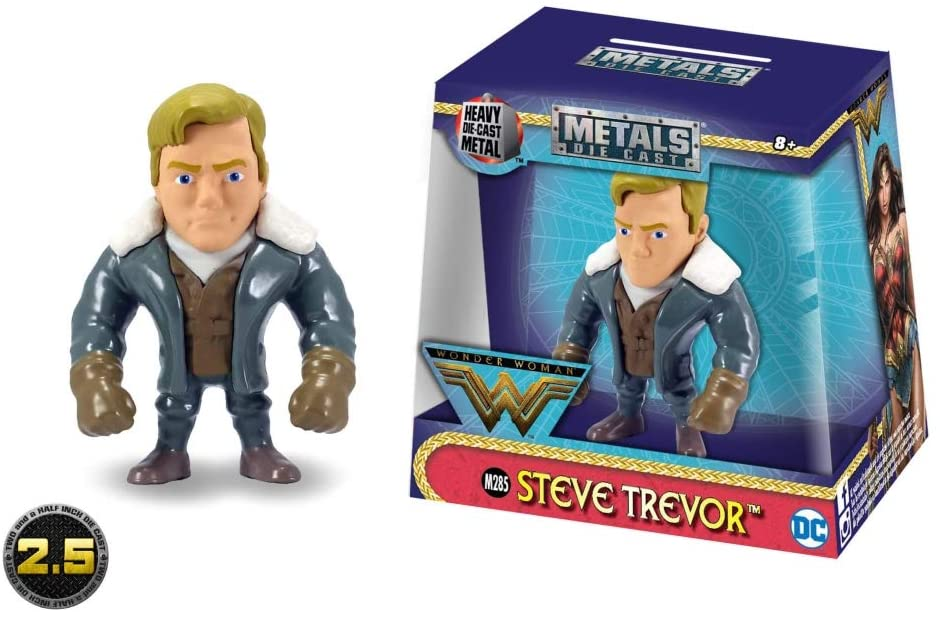 Metalfigs - Steve Trevor 6cm - Metal Die Cast