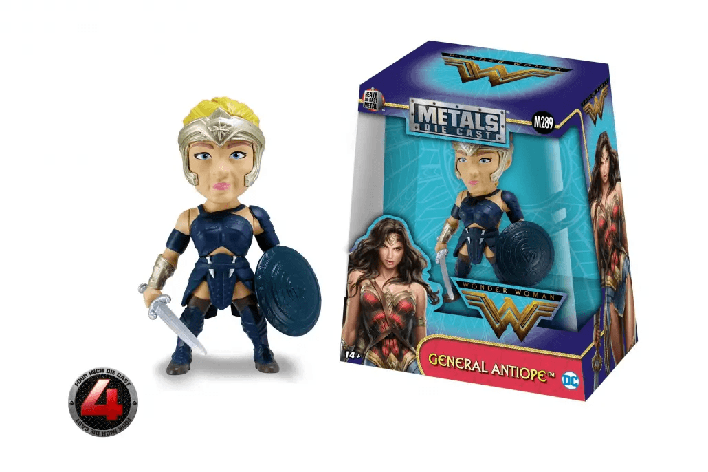 Metals Die Cast - General Antiope 10cm - Wonder Woman