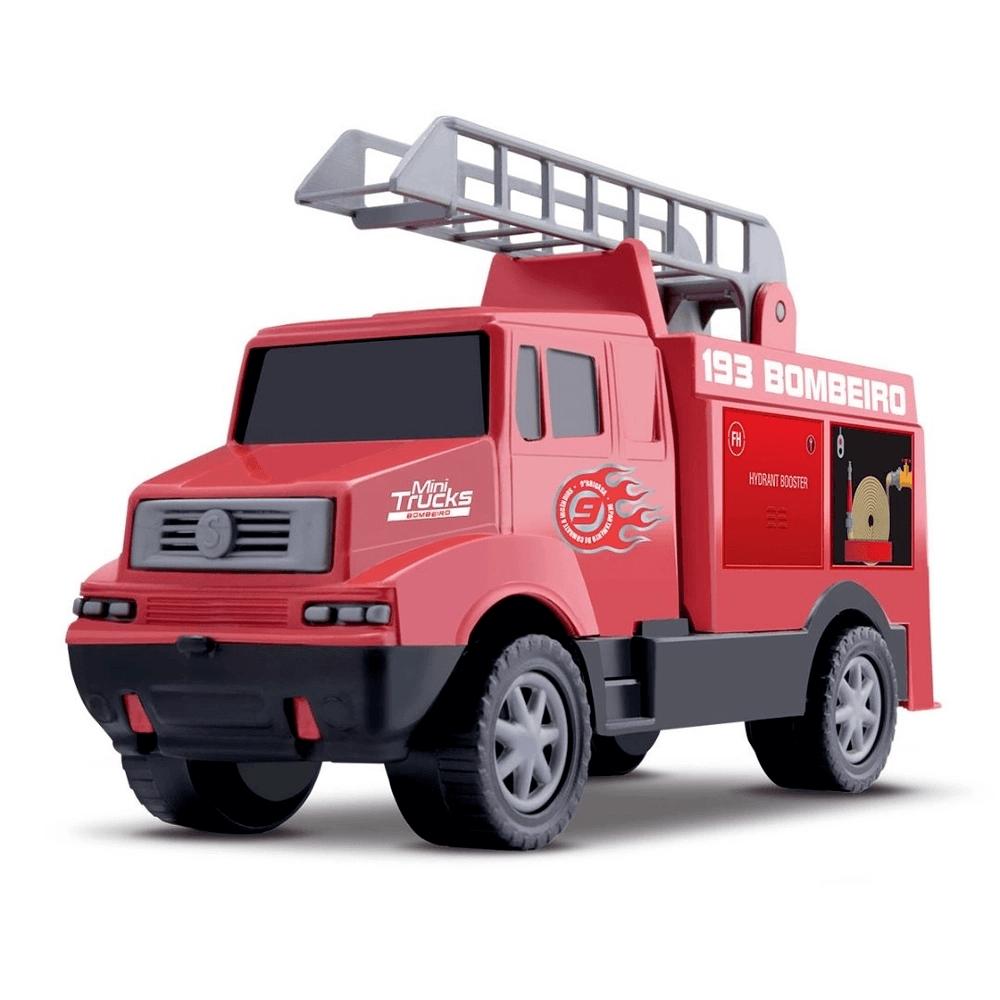 Mini Truck Bombeiro Samba Toys