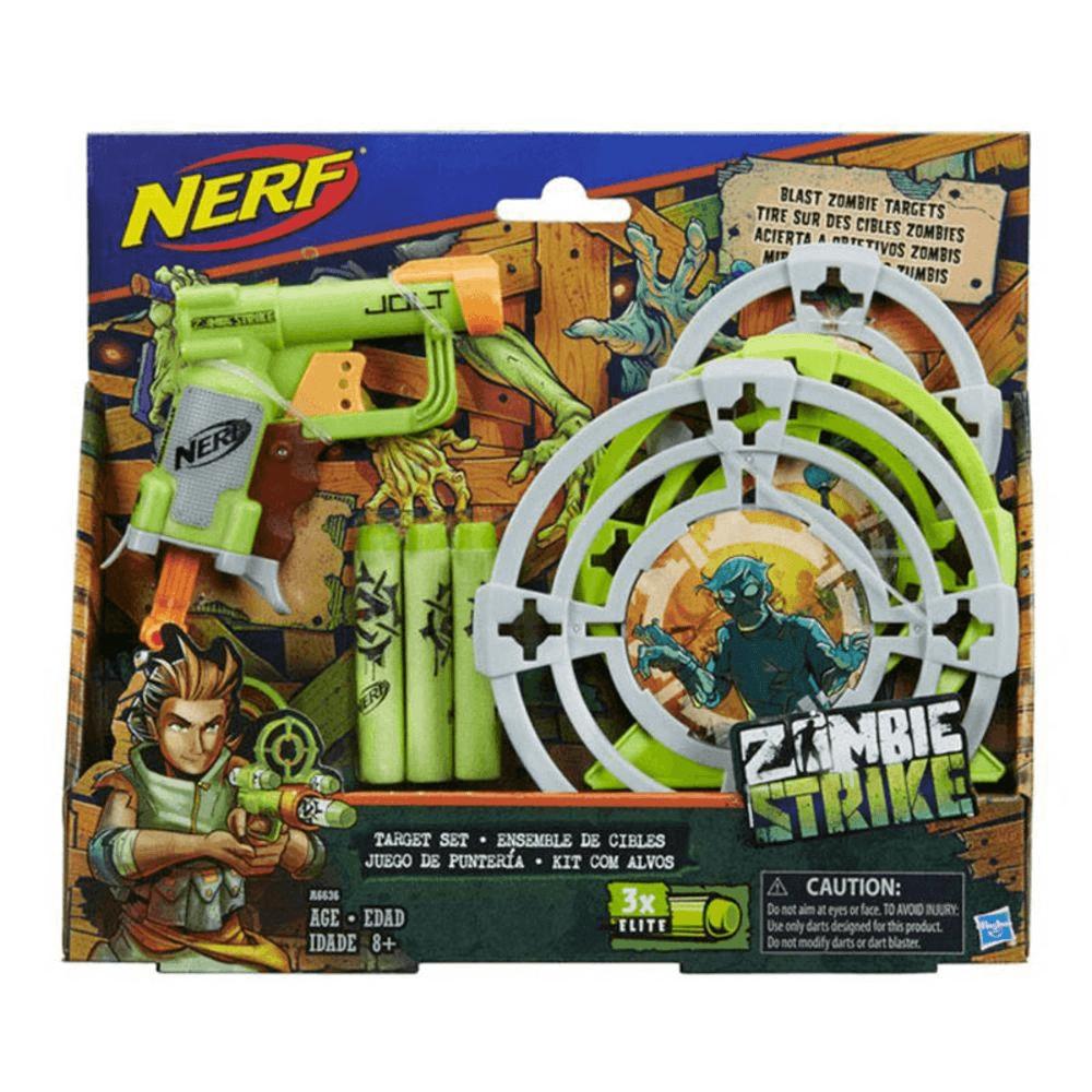Nerf Zombie Strike Kit de Alvos Jolt - Hasbro