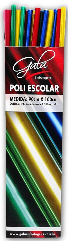Papel polipropileno 90x100 sortido 6154 Gala PT 3 UN