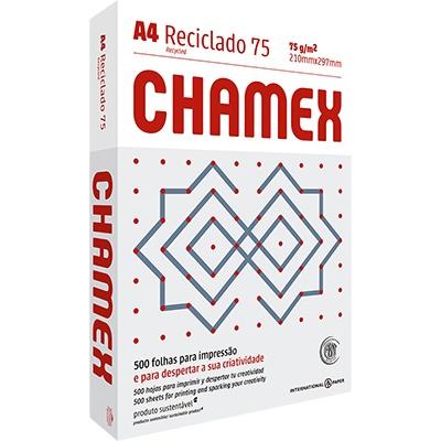 Papel reciclado 75g Chamex Ipaper PT 500 FL