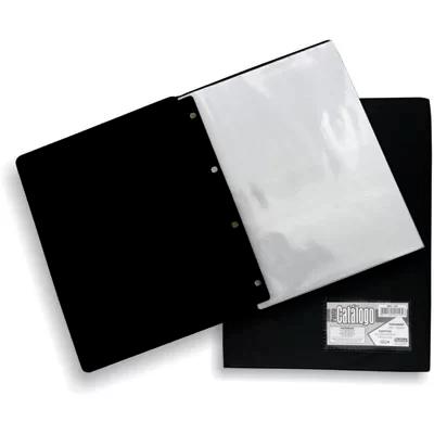 Pasta catálago c/ 25 envelopes 0,10 pp ofício c/ visor 147 Plastpark PT 1 UN