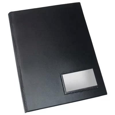 Pasta catálogo c/ 100 envelopes Ofício PP 0,10 c/ visor 108 Plastpark PT 1 UN
