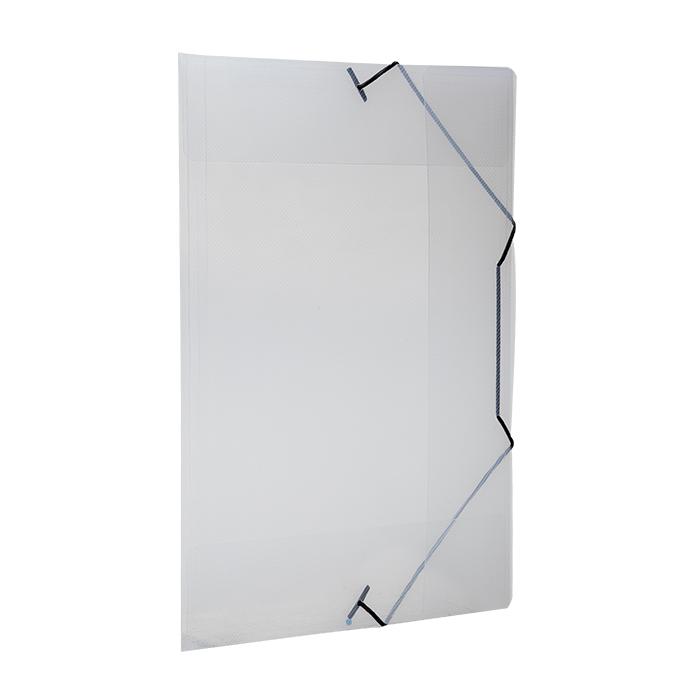 Pasta com aba elástico polipropileno A4 transparente line A02 Dello PT 1 UN