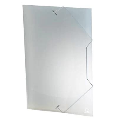 Pasta com aba elástico polipropileno Ofício exclusive transparente A02EX Plascony PT 1 UN