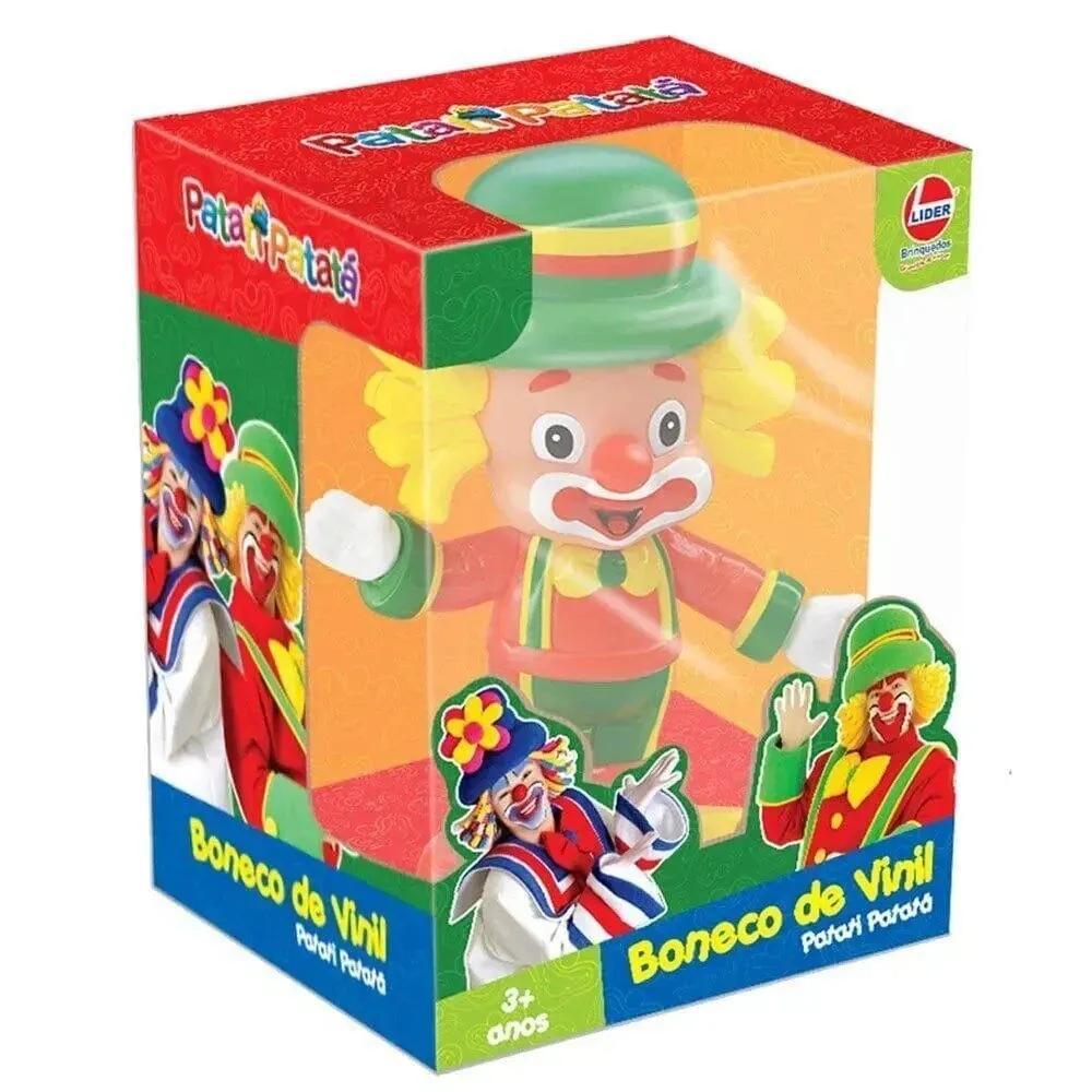 Patatá Boneco em Vinil - Patatí e Patatá - Lider Brinquedos