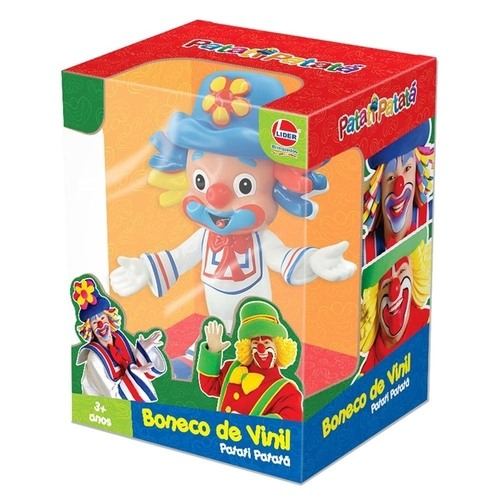 Patatí Boneco em Vinil - Patatí Patatá - Lider Brinquedos