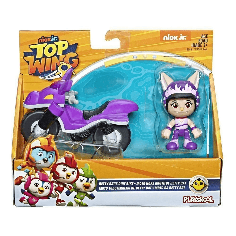 Playskool Top Wing Veículo Betty – Hasbro